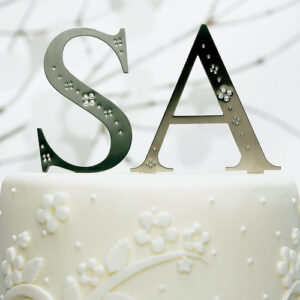 Monogram with Crystal