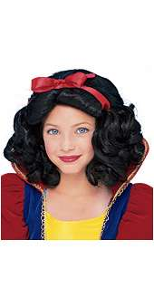 Snow White Wig Kid