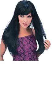 Glamour Girl  Black Wig