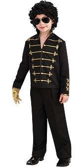 Michael Jackson: Black Military Jacket