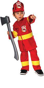 Firefighter Toddler