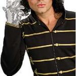 Silver Adult Sequin Glove