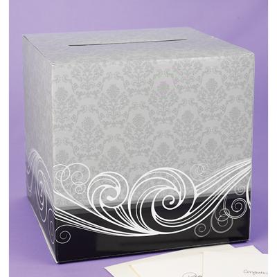 Card Box Cardboard Damask