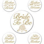 Bridal Family Buttons