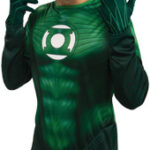 Green Lantern Adult Light Up Ring