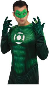 Green Lantern Adult Light Up Ring