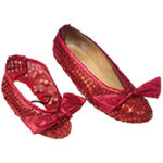 Dorothy Sequin Shoe Cover