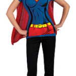 Super-girl Shirt & Cape
