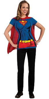 Super-girl Shirt & Cape
