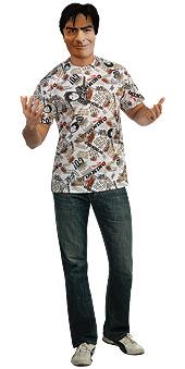 Charlie Sheen Shirt & Mask