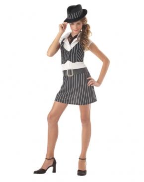 Gangster Mobsta Girl Tween