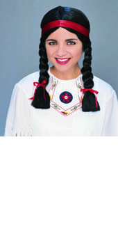 Native American Female Wig