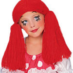Rag Doll Girl Wig Kid