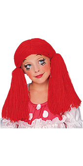 Rag Doll Girl Wig Kid