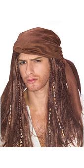 Caribbean Pirate Wig