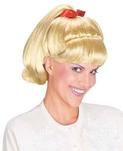 50's Grease: Sandy's Ponytail Wig