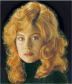 Curly Elegant Auburn Wig