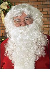 Santa Wig & Beard Economy Set