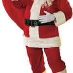 Santa Suit Velour Santa - XL