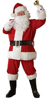 Regal Plush Santa Suit - XL