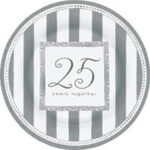 25th Anniversary Tableware  Plates