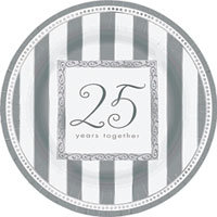 25th Anniversary Tableware  Plates