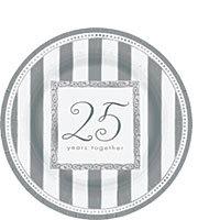 25th Anniversary Tableware Dessert Plates