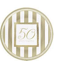 Tableware 50th Anniversary Dessert Plates
