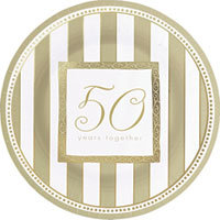 Tableware 50th Anniversary Dinner Plates