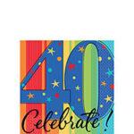A Year 40 Celebrate Napkins
