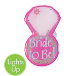 A Flashing Button Bride To Be Ring