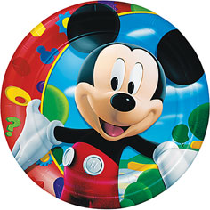 Mickey Mouse -Clubhouse Lunch Plates