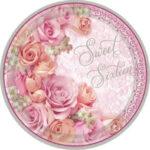 "16 Blossom Sweet Sixteen 9"" Plates 18ct"