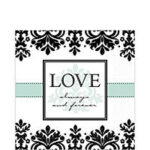 Tableware Always & Forever Lunch Napkins