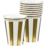 Tableware 50th Anniversary Paper Cups 8ct