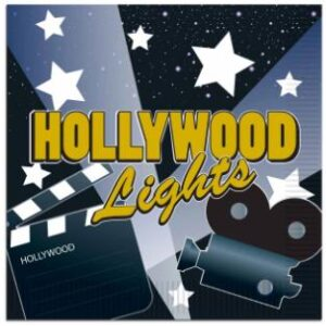 Hollywood Lights Lunch Napkins