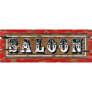 Cutout Saloon Sign