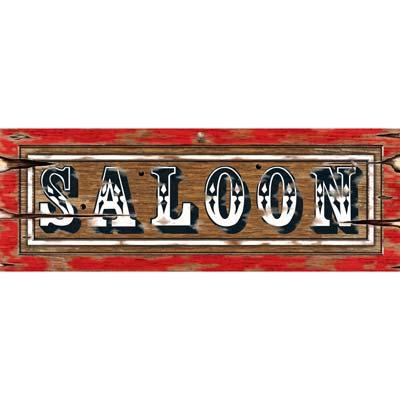 Cutout Saloon Sign