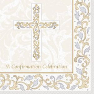 Grace Confirmation  Beverage Napkins