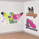 70's Disco Dance Sign  Scene Setter Add-Ons