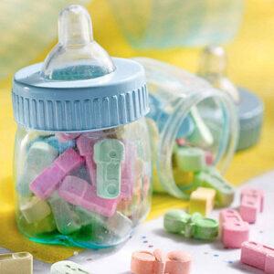 Favor Fillable Baby bottle Blue/Pink assorted