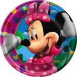"Minnie Mouse  Club House 9"" Plates"