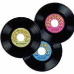Rock & Roll Plastic Records Decor
