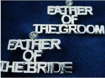 Bridal  Party Pin Father Of The Groom