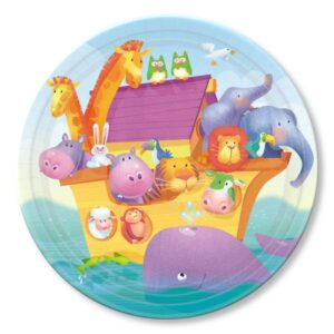 Noah's Ark Two by Two Dessert Plates