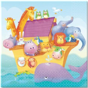 Noah's Ark Two By Two Lunch Napkins