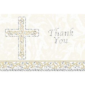 Grace Thank You Cards 8ct