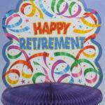 Happy Retirement  Centerpiece