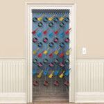 Rock & Roll  Doorway Curtain