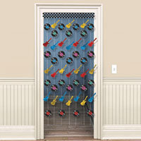 Rock & Roll  Doorway Curtain